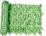 Seto Artificial Huertos urbanos Vallas Decorativas Jardín al Aire Libre Pantalla de privacidad Enrejado de jardín Proyección Valla de Hoja Verde lpzsmd0820(Color:Dark Grape;Size:1x3M)