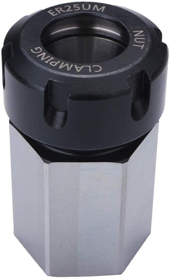 Bearing Tool Accessories Max 71% OFF Arduous Steel ER-25 Collet Chuck Cheap mail order shopping Bl Hex