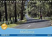 Mallorca: Die schoensten Landschaften fuer Rennradfahrer (Tischkalender 2022 DIN A5 quer): Landschaftsaufnahmen beliebter Radrouten. (Monatskalender, 14 Seiten )
