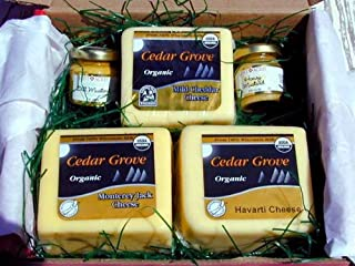 Organic Wisconsin Cheese Gift Box By Cedar Grove