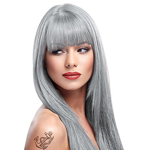 La Riche Directions Semi-Permanent Hair Colour Dye Silver x2 88ml tubs by La Riche