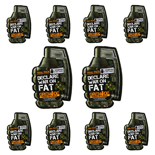 Grenade Thermo Detonator 4 Caps Trial Pack x 5 Sachets