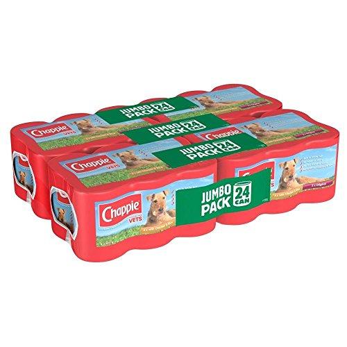 Chappie Hundefutter Jumbo- Pack (24X412G)