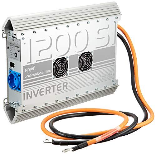 Büttner Sinus Wechselrichter MT 1200 SI 12 V inkl. Verlängerungskabel