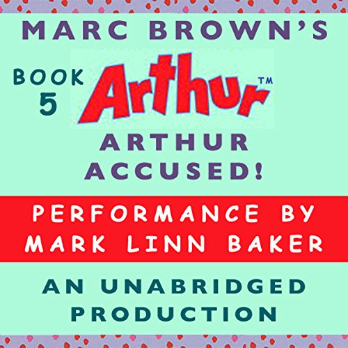 Arthur Accused! audiobook cover art