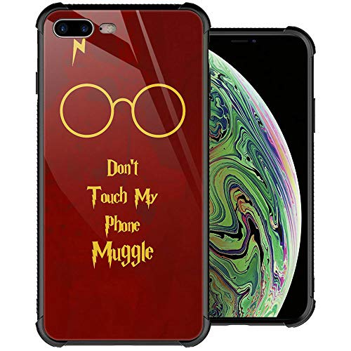 iPhone SE 2020 Case,iPhone 8 Case, Pic169 iPhone 7 Cases, Tempered Glass Back+Soft Silicone TPU Shock Protective Case for Apple iPhone 7/8/SE 2