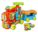 VTech Baby – Push & Ride Alphabet Train – Maxi Trotti Loco 5 en 1 Version Anglaise