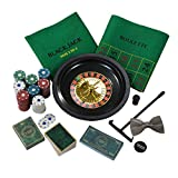 Talking Tables Hosten Sie Ihre eigene Casino Nacht mit 3 Casino-Spielen für Party, Feiern und Geschenke, Roulette, Blackjack, Karten, Poker