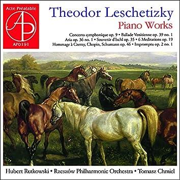Theodor Leschetizky - Piano Music