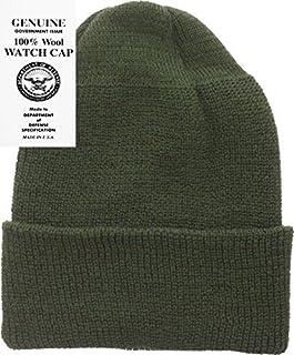 a445d1a6010 Military Genuine GI Winter USN Warm Wool Hat Watch Cap USA Made