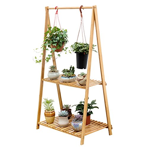 Bambou en bambou créatif - étagère en bois pliante multi-couches en bois (Couleur : B)