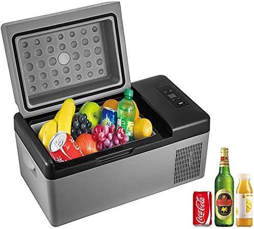 VBENLEM Portable Anti-Shake Refrigerator 21 Quart (20L)12V Fridge Freezer for Car, Vehicle, Truck, RV, Boat, Mini fridge freezer for Driving, Travel, Fishing, Outdoor, Home-12/24V DC and 110-240V AC