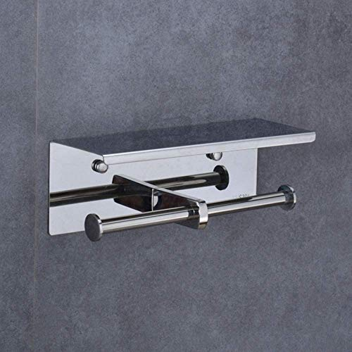 aipipl Badezimmer Edelstahl Wasserdichter Toilettenpapierhalter Papierhandtuchhalter Top Aufbewahrungstisch Größe 25 cm * 10 cm * 9,5 cm Tissue Box langlebig