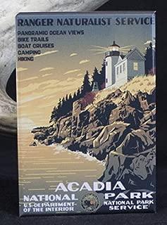 Acadia National Park Refrigerator Magnet.