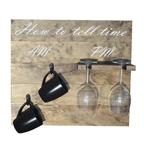 wood wine signs - 9
