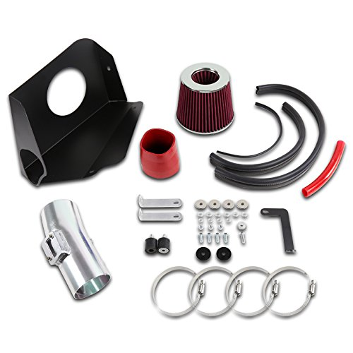 Spec-D Tuning AFC-ALT07V6RD-AY Red Cold Air Intake