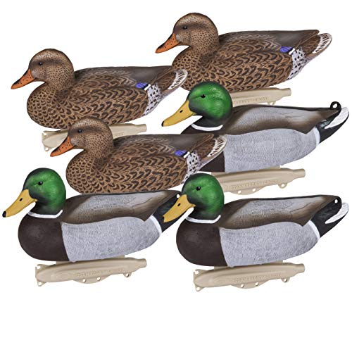 Flambeau Outdoors 8036SUV Storm Front 2 Mallard Decoys, Classic Floaters - 6-Pack, One Size (5001161)