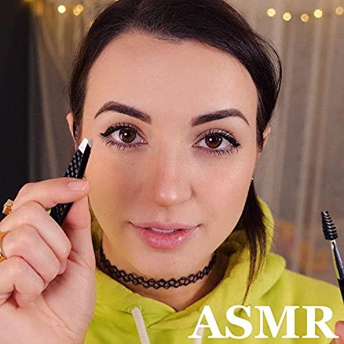 In-Depth, Gentle Eyebrow Shaping, Tweezing, Makeup Pt.4