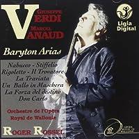 Verdi - Baritone Arias