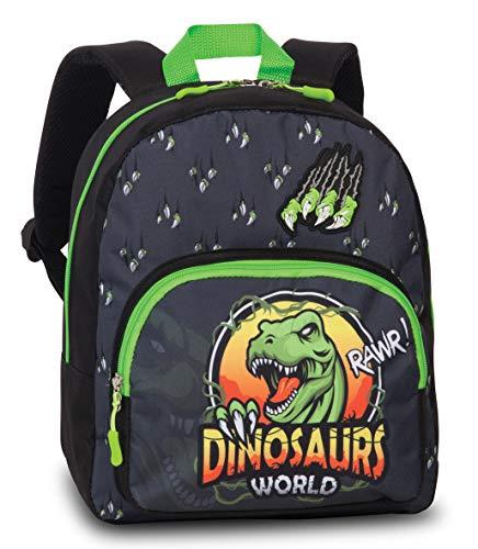 Fabrizio Kinderrucksack Rucksack Tyrannosaurus Rex Dino schwarz