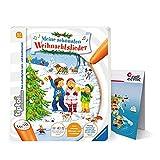 Ravensburger - Livre de musique interactif tiptoi® - Mes plus belles chansons de Noël - avec carte du monde pour enfants