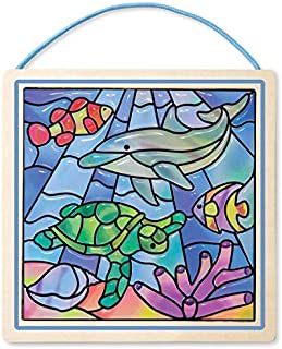 Melissa & Doug Peel and Press Stained Glass Undersea Fantasy Stickers