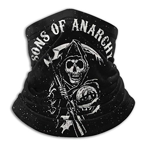 Sons of Anarchy Pañuelo de Cuello cálido con Tubo Multifuncional