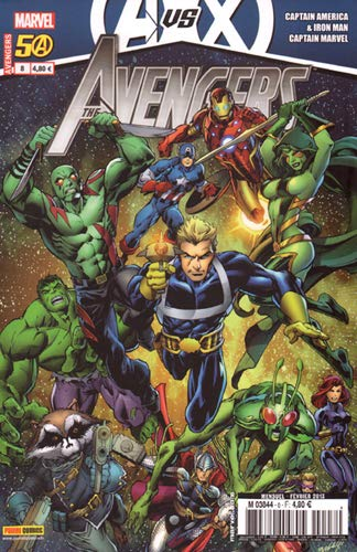 Avengers, Tome 8, 2012 :
