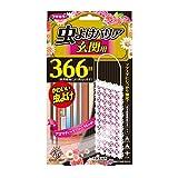 虫よけバリア 虫除け プレート Kawaii Select 玄関用 フローラルの香り 366日