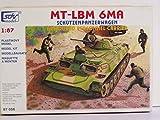 SDV Modellbau Kunststoff Modellbausatz Militär 1:87 H0 LBM 6MA Schützenpanzerwagen Panzer Fahrzeuge Ostblock