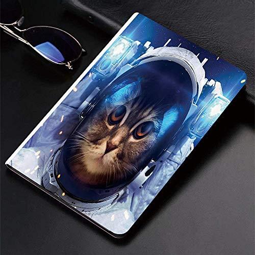 Funda para iPad (24.638, modelo 2018/2017, 6.a / 5.a generación) Funda inteligente ultradelgada y liviana, Cat ations by, Astronomy Gifts Astronaut Cat in Space Graphic Galaxy Cosmos, Fundas inteligen