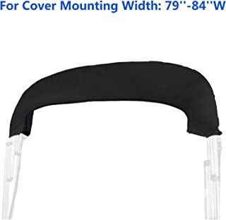 LIUWEI 600D 3 Bow Bimini Top Boot Cover Geen Frame Boot Cover Waterdichte Anti UV Boot Cover Stofdicht Marine Cover Boat A...