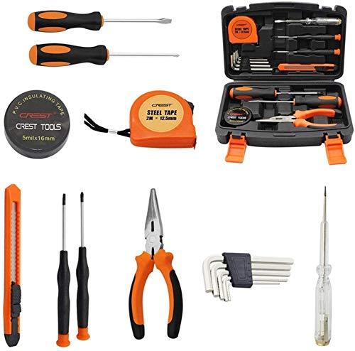Cozywind Juego de herramientas de hardware para el hogar combinación de coche juego de herramientas de mantenimiento manual