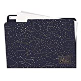 Legami FOL0003 Kit da 5 Cartelline Portadocumenti, Stars