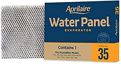 Aprilaire - 35 A1 35 Replacement Water Panel for Whole House Humidifier Models 350, 360, 560, 568, 600, 600A, 600M, 700, 700A, 700M, 760, 768 (Pack of 1)