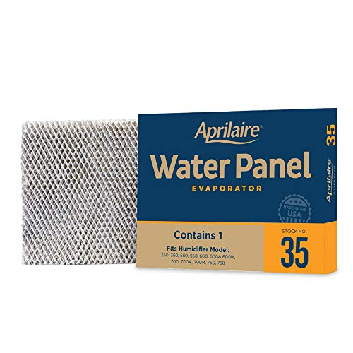 Aprilaire 35 Replacement Water Panel for Aprilaire Whole House Humidifier Models 350, 360, 560, 568, 600, 600A, 600M, 700, 700A, 700M, 760, 768 (Pack of 4)