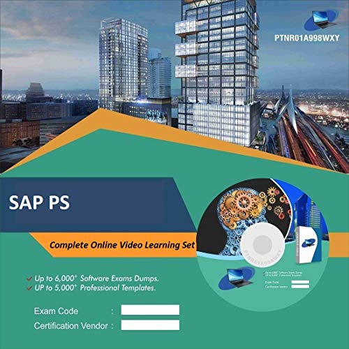 SAP PS Complete Video Learning Solution Set (DVD)