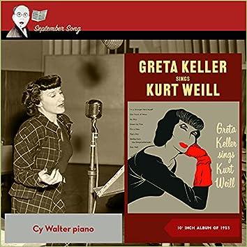 Greta Keller sings Kurt Weill (10inch Album of 1953)