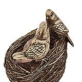 Himalayan Sal Lámpara Personalidad Creativa Dormitorio Sala De Estudio Purificación Aire De Mesa Lámpara De Sobremesa Resina Pájaro