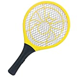 FOBELISK Electric Fly Swatter - Bug Zapper - Best High Voltage Handheld Mosquito Killer - Wasp, Fruit Fly, Insect Trap Racket for Indoor, Travel, Camping and Outdoor Control (2 AA Batteries Included)