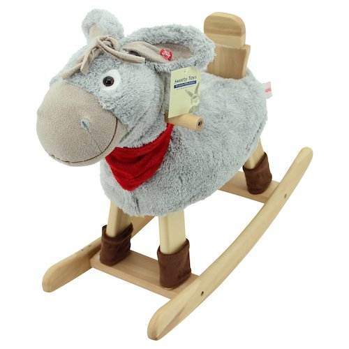 Sweety Toys 3907 Schaukeltier Esel Peter Schaukelpferd Schaukelstuhl super-süss