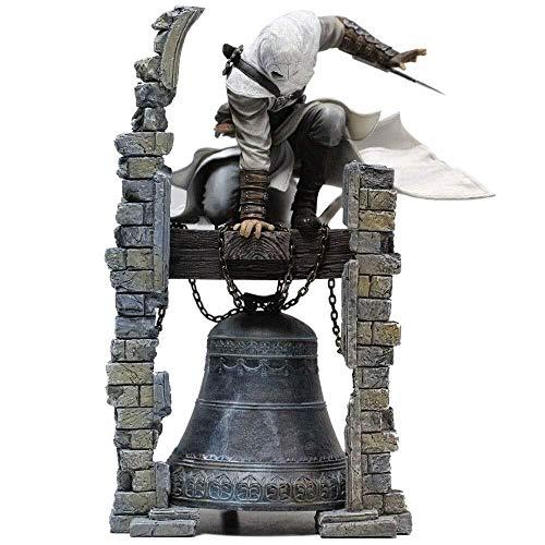 LYQZ Figurine Assassin's Creed - Altair: Le Légendaire Figurin d'action Figma Original du Tour de Cloche d'Altair (Taille: 11 Pouces)