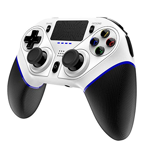 FXQIN PS4-Controller Wireless Gaming Controller Bluetooth Gamepad Joystick für P3 / PC-Computer/Android/IOS-Handy, Touch Panel Joypad mit Dual Vibration