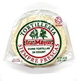 La Mejor Corn Tortillas 24CT, Gluten-Free, for tacos, quesadillas, enchiladas, taquitos,...