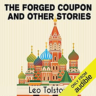 The Forged Coupon and Other Stories audiobook cover art