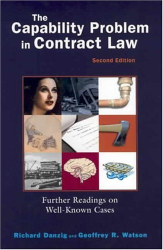 The Capability Problem in Contract Law: Further Readings...