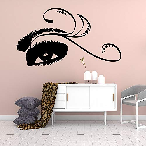 JXND Pegatina de salón de Belleza, Papel Tapiz de Vinilo Impermeable, decoración del hogar, Sala de Estar, Dormitorio, Arte Decorativo de Pared 48x87cm