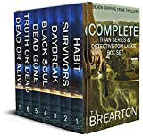 THE COMPLETE TITAN SERIES & DETECTIVE TOM LANGE BOX SET seven gripping crime thrillers