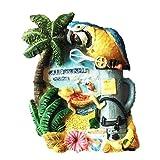CANCUN Mexiko Kunstharz 3D starker Kühlschrank Magnet Souvenir Tourist Geschenk Chinesische Magnet Hand Made Craft Creative Home und Küche Dekoration Magnet Sticker