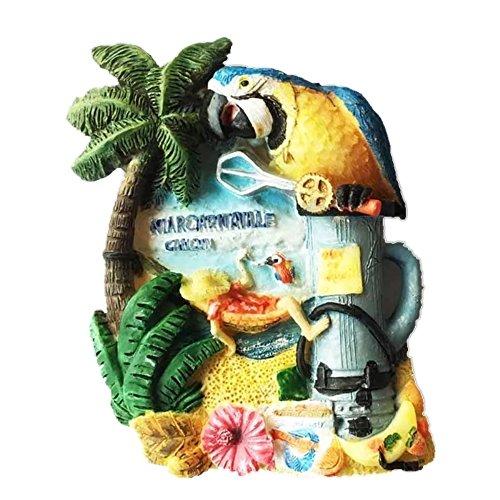 Cancun Mexiko 3D starker Kühlschrankmagnet aus Kunstharz, Souvenir, Touristengeschenk, chinesischer...